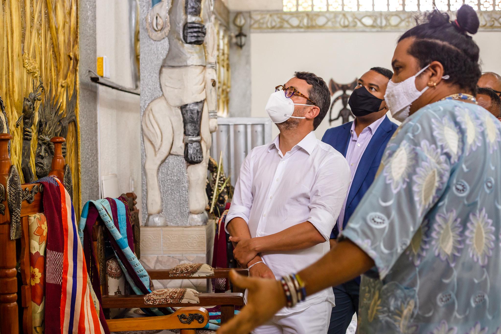 Potencialidades turísticas de Lauro de Freitas encantam secretário de Turismo do Bahia