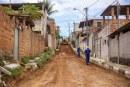 Após chuvas, Prefeitura retoma obras de pavimentação em ruas do Caji