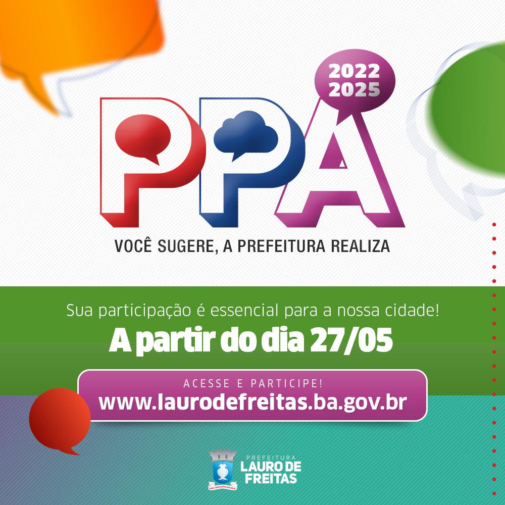 População de Lauro de Freitas pode apresentar sugestões para o Plano Plurianual a partir desta quinta-feira (27)