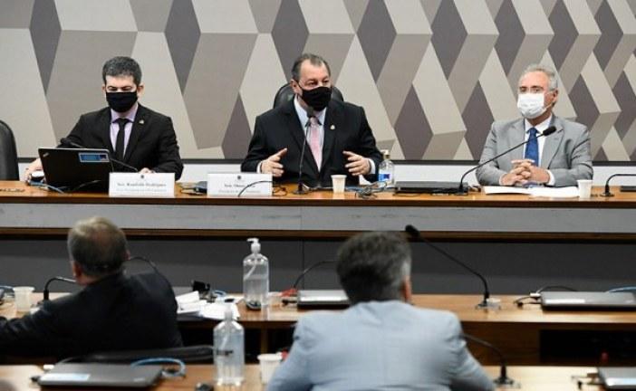 Membros da CPI divulgam nota criticando pronunciamento de Bolsonaro