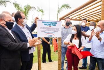 Praça de Vilas é revitalizada e entregue a população no aniversário de 59 anos de Lauro de Freitas