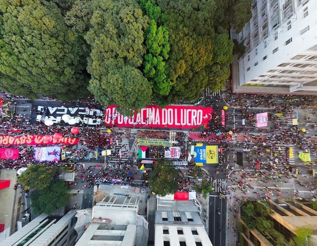 Atos #24JForaBolsonaro reúnem 600 mil pessoas no Brasil e no exterior