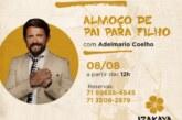 Após 16 meses em isolamento social, Adelmário Coelho anuncia show no Dia dos Pais em Lauro de Freitas