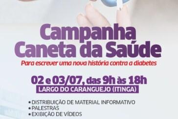 Campanha 'Caneta da Saúde' chega a Lauro de Freitas com orientações sobre a diabetes