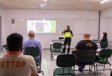 Servidores da Settop recebem capacitação em Lauro de Freitas