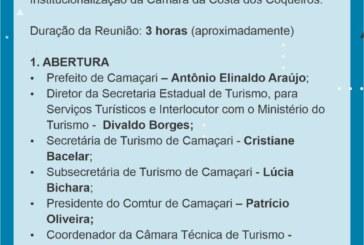 Reunião da Câmara de Turismo da Costa dos Coqueiros, acontece em Camaçari nesta sexta, (30)