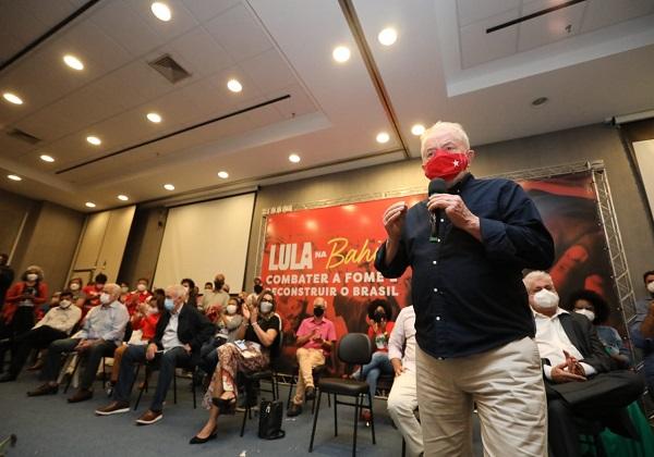 Lula: 'Nunca tive tanta vontade de ser candidato como tenho agora'