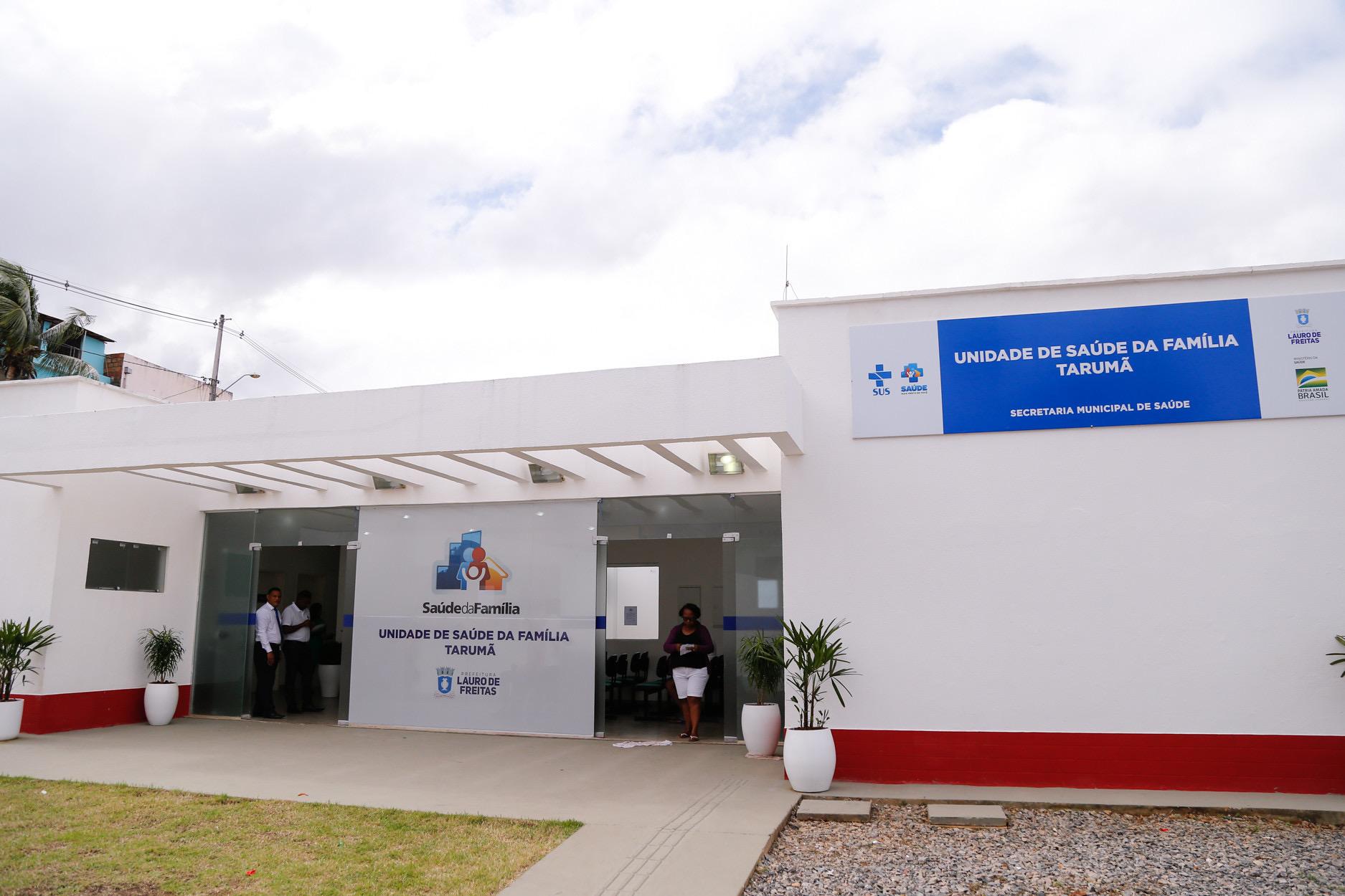 Lauro de Freitas requalifica unidades da rede municipal de saúde