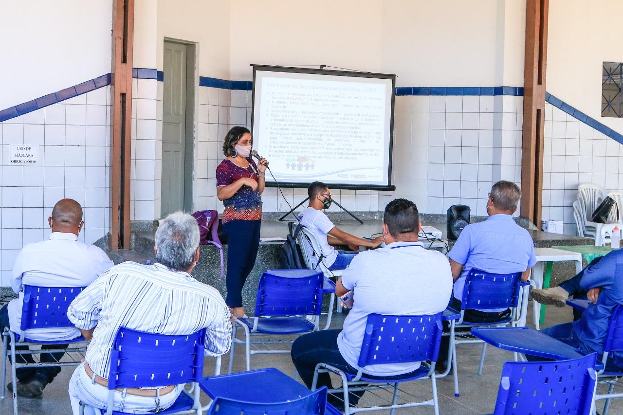 Comissão garante participação popular no acompanhamento da obra de esgotamento sanitário de Lauro de Freitas