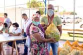 Famílias assistidas pelos Cras de Lauro de Freitas começam a receber cestas de alimentos do mês de agosto