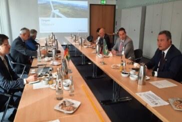 Rui Costa conhece tecnologia de hidrogênio verde da Siemens