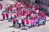 Caminhada em alusão ao Outubro Rosa movimenta as ruas de Itinga e alerta para o câncer de mama