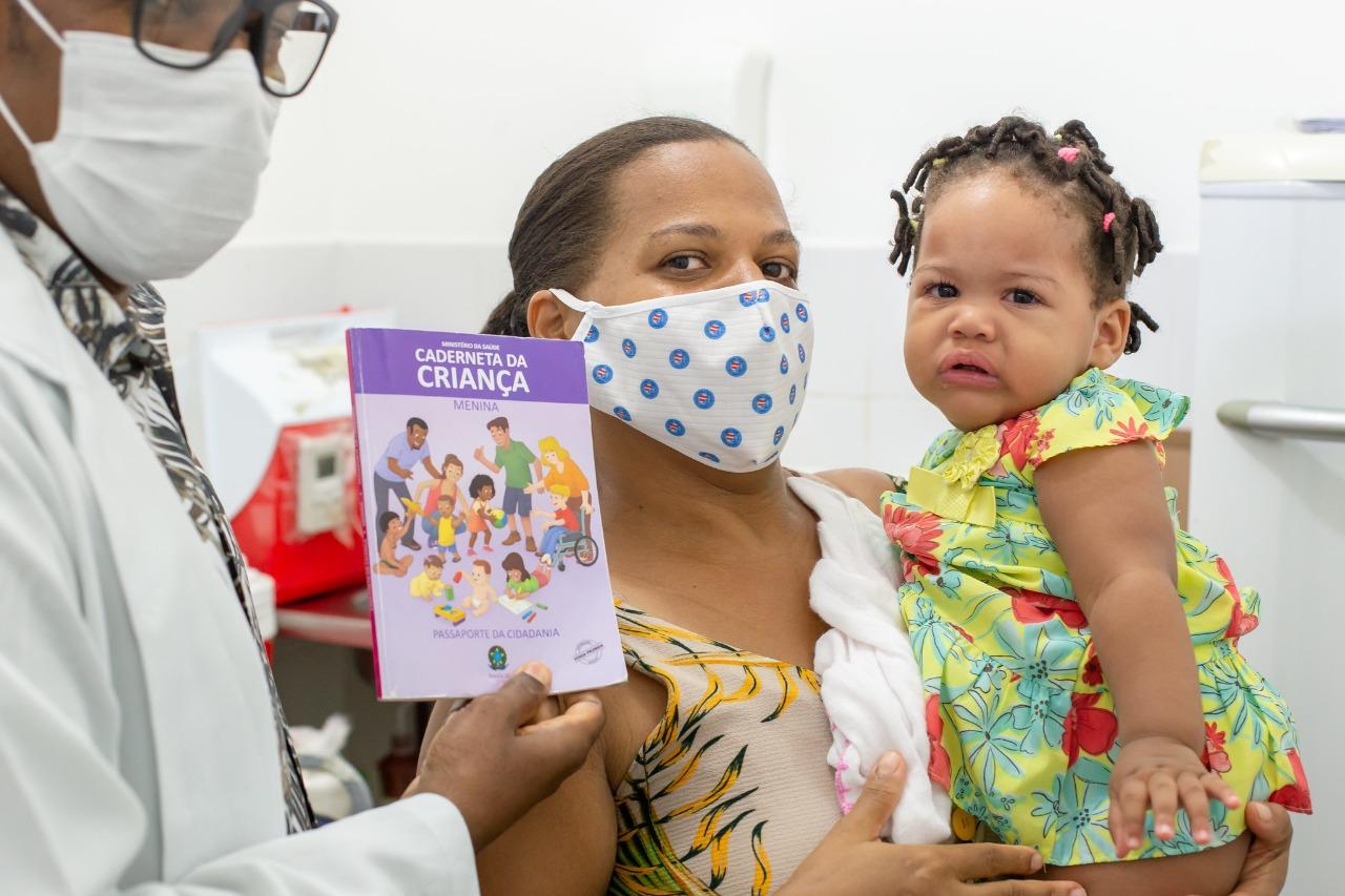 Campanha Nacional de Multivacinação foi iniciada nesta sexta-feira (1) em Lauro de Freitas