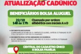 Beneficiários do Bolsa Aluguel devem atualizar o CadÚnico em Lauro de Freitas
