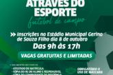 Projeto oferece aulas de futebol para crianças e jovens de Lauro de Freitas. Saiba como se inscrever
