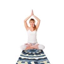 Yoga mat (Ribbon Mandala)