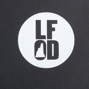 White Circle LFOD Sticker