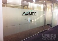 Quality Custom Window Frosting & Film Signage in Melbourne