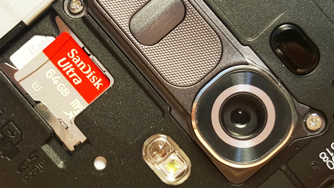 #3 in Our List of the Best LG G4 Features - microSD Card Slot