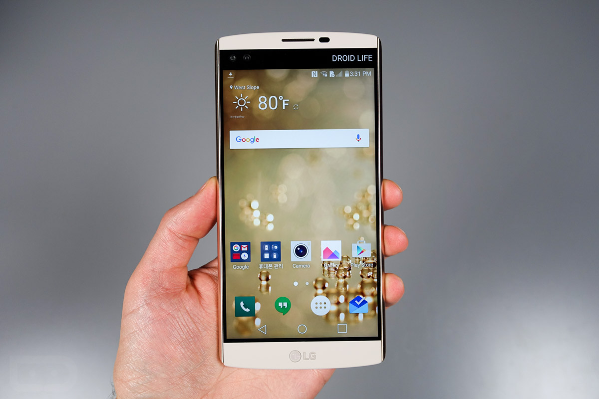 #3 in Our Best Gaming LG Smartphone List - LG V10