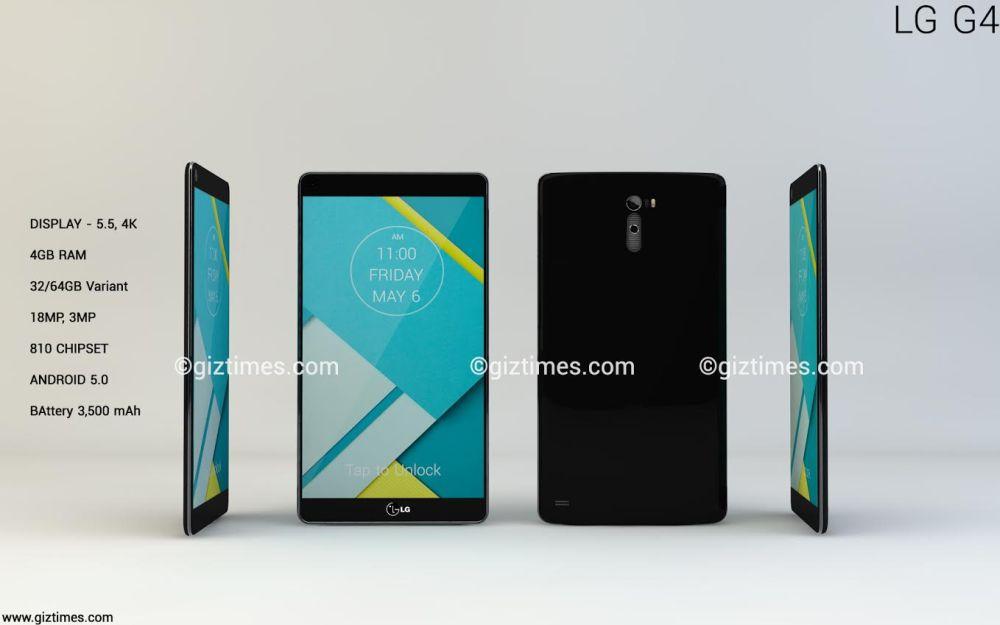 Best LG G4 Concept List - Super Slim Bezels