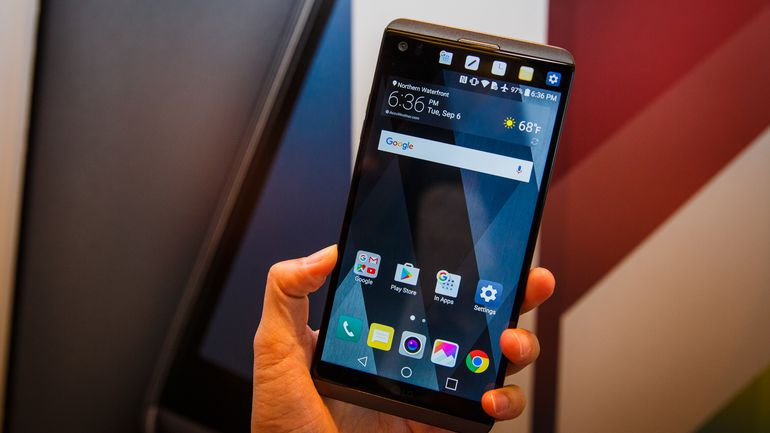 LG Phone Information - LG V20 with Dual Displays and Rear Shooters