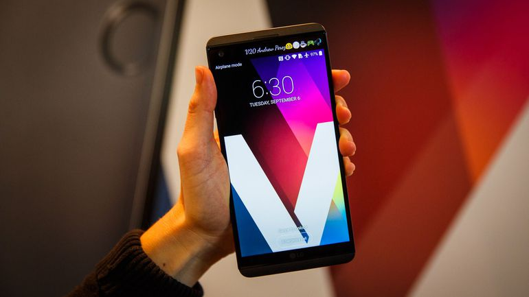 LG Phones Review - LG V20