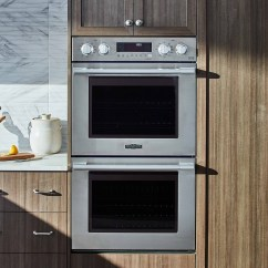 Kitchen Ovens Knife Sets High End Designer Appliances Signature Suite Double Wall Oven From