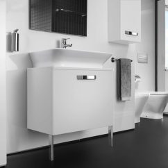 Stainless Kitchen Sinks Signature Warehouse Sale Roca The Gap Matt White Base Unit With Drawer For 500mm Basin