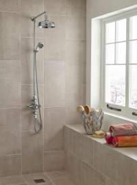 Lauren Victorian Thermostatic Triple Exposed Shower Valve
