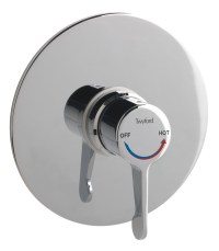 Twyford Sola Concealed Thermostatic Shower Valve With