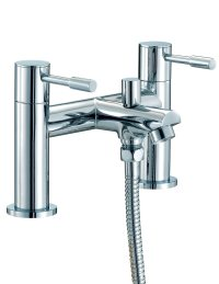 Mayfair Series F Bath Shower Mixer Tap With Shower Kit Chrome