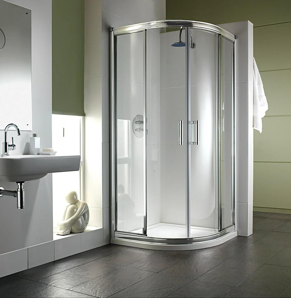 Twyford Hydr8 Quadrant Shower Enclosure 1000 x 1000mm