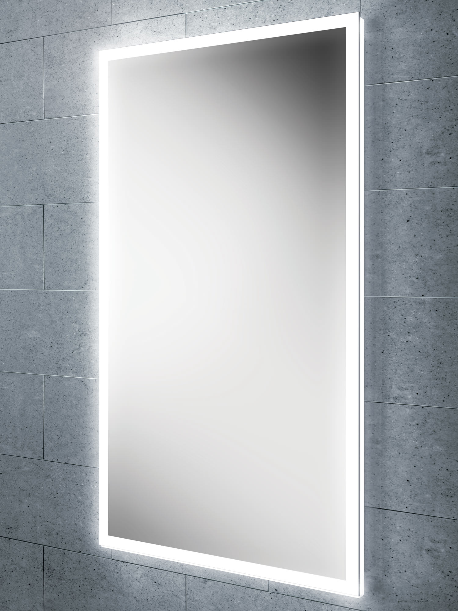 Illuminated Bathroom Mirror Hib Globe 50 Steam Free Led Illuminated Bathroom Mirror 500 X 700mm