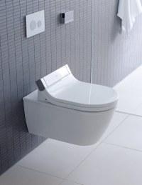 Duravit Starck 3 Wall Mounted Toilet With SensoWash Seat 620mm
