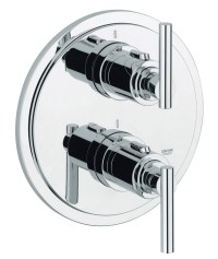 Grohe Spa Atrio Jota Chrome Thermostatic Shower Mixer ...