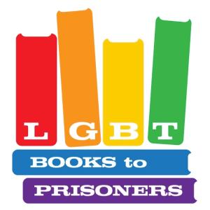 LGBT BtP logo with rainbow-colored books