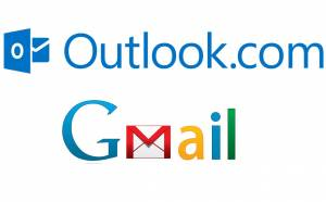 Outlook and Gmail webmail