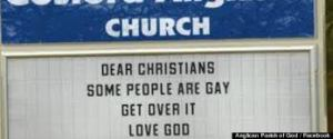 some folks are gay god