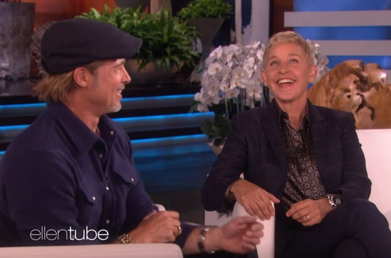 Ellen Says She Dated One Of Brad Pitt S Ex Girlfriends