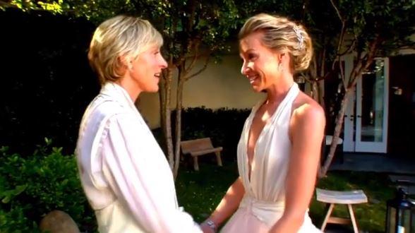 Ellen DeGeneres & Portia De Rossi Celebrate 10 Years Of