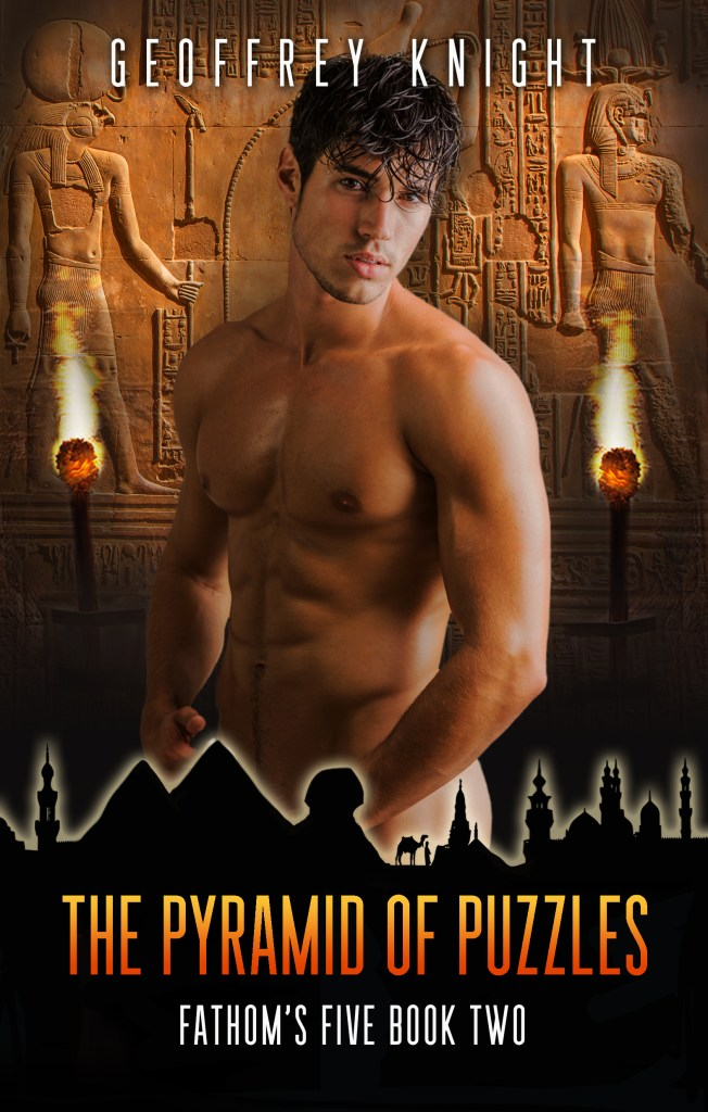 Book Cover: The Pyramid of Puzzles: Fathom's Five Book Two