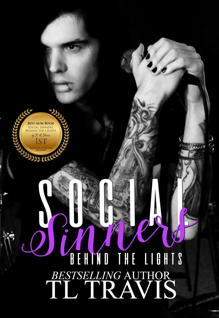 Book Cover: Social Sinners: Behind the Lights