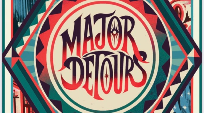 Exclusive Cover Reveal + Galley Giveaway: Interactive Novel (!) <em>Major Detours</em> by Zachary Sergi