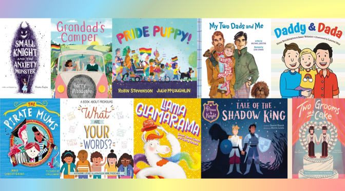 New Pride Month Picture Books!
