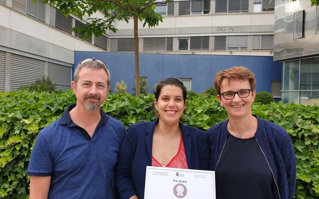 Lucille PAYET, lauréate du prix « Etudiants et jeunes chercheurs » de la Fabrique de l'Industrie