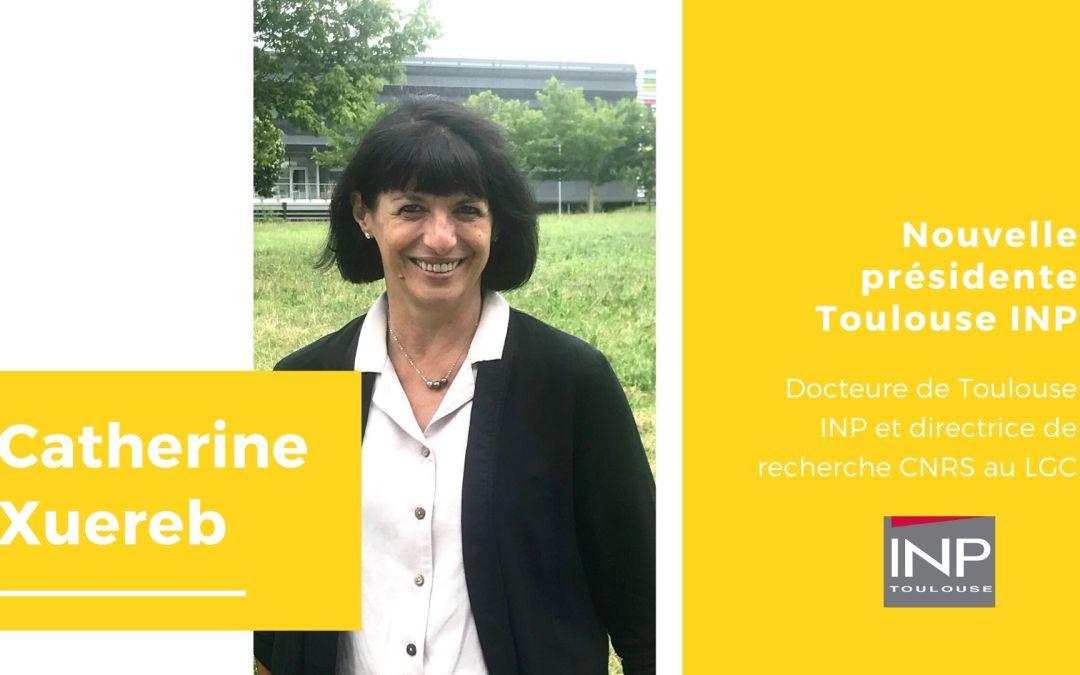 Catherine Xuereb, nouvelle Présidente Toulouse INP
