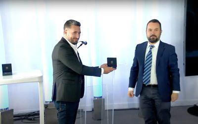 Journée des Talents du CNRS – Remise de médaille de Benjamin ERABLE