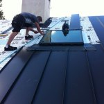 Standing Seam Metal Roofing & Velux Skylights Installation