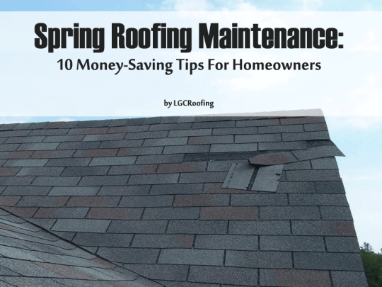 Spring Roofing Maintenance: 10 Money-Saving Tips For Homeowners